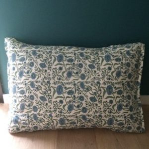 Coussin green bloom